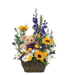 Bear and Blooms from Martinsville Florist, flower shop in Martinsville, NJ