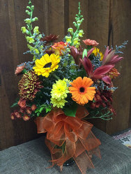 Autumn Spender from Martinsville Florist, flower shop in Martinsville, NJ