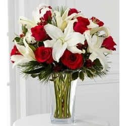 Holiday Wishes Bouquet from Martinsville Florist, flower shop in Martinsville, NJ