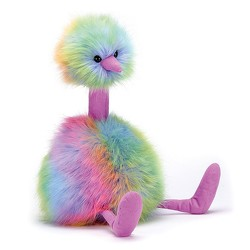 Jelly Cat Rainbow PomPom from Martinsville Florist, flower shop in Martinsville, NJ