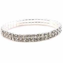 Double Rhinestone Band Bracelet from Martinsville Florist, flower shop in Martinsville, NJ