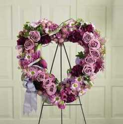 Our Purple Heart from Martinsville Florist, flower shop in Martinsville, NJ