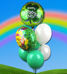St Patrick's Day Balloons! from Martinsville Florist, flower shop in Martinsville, NJ