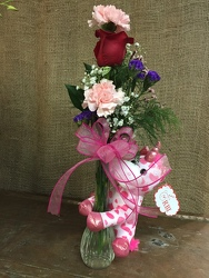 Sweet Unicorn Bud Vase from Martinsville Florist, flower shop in Martinsville, NJ