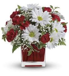 Red and White Delight from Martinsville Florist, flower shop in Martinsville, NJ