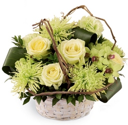 Basket of Dreams Arrangement from Martinsville Florist, flower shop in Martinsville, NJ