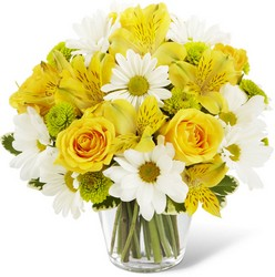 Sunny Sentiments Bouquet from Martinsville Florist, flower shop in Martinsville, NJ