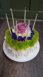 Happy Birthday Cake from Martinsville Florist, flower shop in Martinsville, NJ