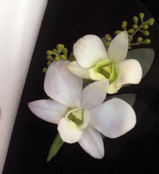 Classic Orchid Boutonniere from Martinsville Florist, flower shop in Martinsville, NJ
