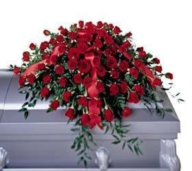 Greatest Love Casket Spray from Martinsville Florist, flower shop in Martinsville, NJ