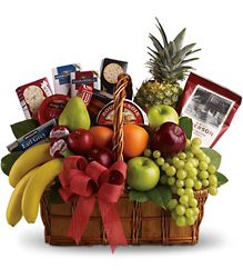 Bon Vivant Gourmet Basket from Martinsville Florist, flower shop in Martinsville, NJ