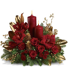 Candlelit Christmas from Martinsville Florist, flower shop in Martinsville, NJ