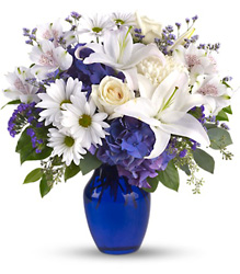 Beautiful in Blue from Martinsville Florist, flower shop in Martinsville, NJ