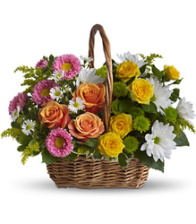 Sweet Tranquility Basket from Martinsville Florist, flower shop in Martinsville, NJ