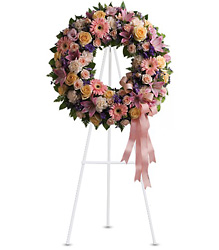 Graceful Wreath from Martinsville Florist, flower shop in Martinsville, NJ