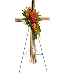 River Cane Cross from Martinsville Florist, flower shop in Martinsville, NJ