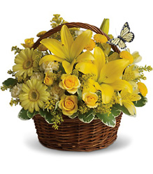Basket Full of Wishes from Martinsville Florist, flower shop in Martinsville, NJ