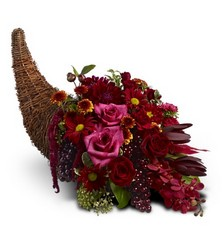 Crimson Cornucopia from Martinsville Florist, flower shop in Martinsville, NJ
