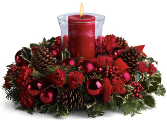 Christmas by Candlelight from Martinsville Florist, flower shop in Martinsville, NJ
