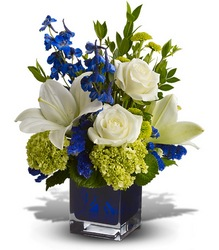 Serenade in Blue from Martinsville Florist, flower shop in Martinsville, NJ