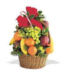 Tower of Fruit from Martinsville Florist, flower shop in Martinsville, NJ