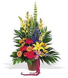 Celebration of Life Basket from Martinsville Florist, flower shop in Martinsville, NJ