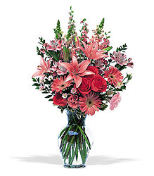 Marvelous Pinks from Martinsville Florist, flower shop in Martinsville, NJ